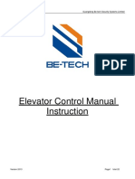 Manual-RFID Elevator Controller Manual Instruction