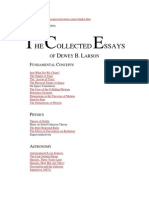 17659375 the Collected Essays of Dewey b Larson