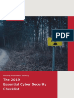 2019 Security-Awareness-checklist Okt 2018