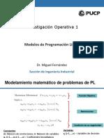 Modelos de PL 1