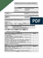 Ficha Monitoreo Materiales