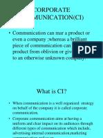 Corporate Comunication