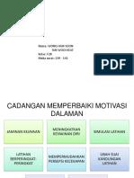 Kepentingan Tmk Dalam p&p Pj