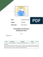 p.o 11.- Examinacion Visual