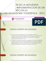 Optimizacion de La Molienda Mediante La Implementacion