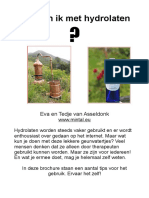Boekje Hydrolaat NL
