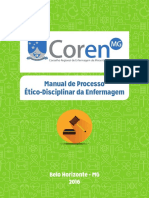Manual de Processo Etico e Disciplinar de Enfermagem