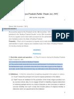 The Madhya Pradesh Public Trusts Act 1951