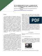 Elaboración de Una Herramienta Para La Medición de Humedad Del Suelo y Temperatura Del Ambiente Para El Campo