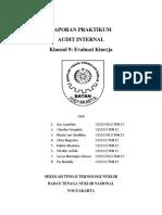 Laporan Praktikum Audit Internal