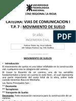 07 Vias de Comunicacion I - UTN - FRLAR - Movimiento de Suelos