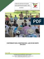 Plan de Desarrollo Municipal 2016-2019 San Luis de Palenque