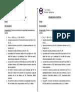 Actividad - Progresión Aritmetica - 4to - 4to Bim - B