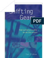 Shifting Gears - High Performance skills for the 21st century