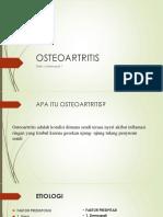 PPT GERONTIK OSTEOARTRITIS