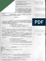Decreto contra incêndio - Municipio de Campinas