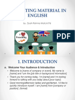 Presenting Material in English-1
