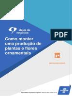 Produção de Plantas e Flores Ornamentais