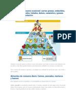 Alimentos de Consumo Ocasional
