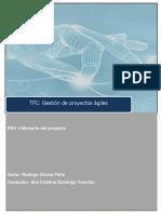 Aplicación de La Gestión de Proyectos Ágiles