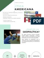 Geopolítica Latinoamericana
