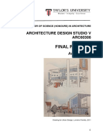 bsc  hons  arch   studio arc60306   project 2 august 2018 v5