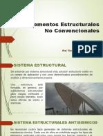 Elementos Estructurales No Convencionales