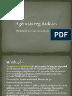 Agências reguladoras