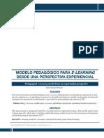 Modelo Pedagógico Para E-learning