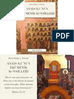 Anadolunun Ekümenik Konsilleri - Marc Madrigal