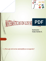 funciones Matematicas NivelIntro