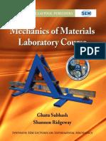 Mechanics of Materials Laboratory Course