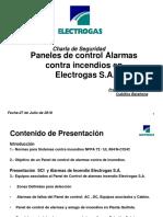 Charlas de Seguridad Alarmas y SCI (Incendios)  27072018 - Final