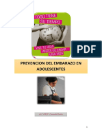 Prevencion de Embarazo en Adolescentes