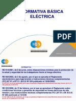 Normativa Básica Eléctrica