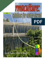 Holmgren, D - Garden Agriculture - A Revolution in Efficient Water Use