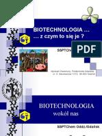 Biotechnologia z czym to się je