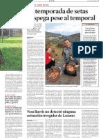 Article publicat a La Vanguardia sobre la temporada de bolets