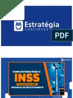 3) Como Estudar para INSS - Técnico (slides - alunos).pdf
