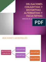 Obligaciones Conjuntivas y Disyuntivas Alternativas y Facultativas.ppt (1)