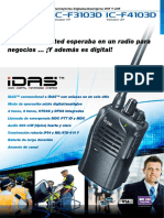 F3103DSpanish Brochure