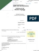 CEE 330_ Soil Mechanics Settlement of Shallow Footings - Ppt Video Online Download