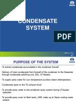 Condensate System