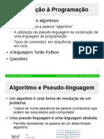 Modulo-1-1 (Aula Teórica) Computação e Programação