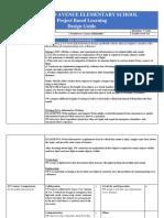 unit 2- 1st grade 2018-2019 pbl template