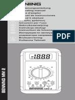 Benning Mm1 Manual