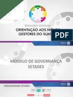1_seminario Suas_modelo Governanca Setades_clarice Imperial