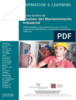 Gestion Mantenimiento Industrial