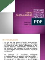 TEJIDO CARTILAGINOSO (