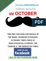 All Editorial 09 October Editorial
